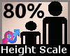 Height Scaler 80% F A