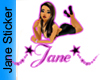 Jane Sticker
