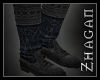"""[Z] """"Elric"""" Boot blk/grn"""