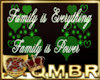 QMBR Family Flash Sign