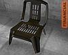 Plastic Black Chair