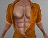 Orange Open Den Shirt M