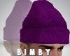 Purple Beanie [Plain]