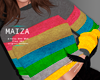 COLORFUL SWEATER .