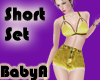 ~BA Summer Short Set Yel