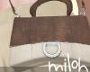 [M] Mini bag leather