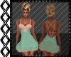Peach & Mint Date Dress