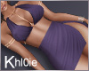 K kloe purple dress RL