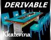 [kk] DERV. Dining Table
