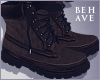 B' Brown Boots