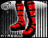 !MB! Fierce Boots ~ Red