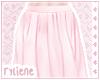 pink blush ; midi skirt