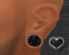 *Small black Ear Plugs