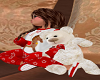 X-Mas Cuddle Bear w/pose