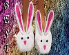 Bunny Slippers Pink