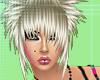 Blonde spikey