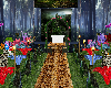 jungle wedding room