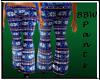 BBW Winter Pants Blue
