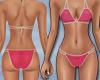 Pink Bikini String Strap