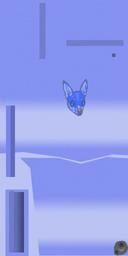 Blue Anime Lei