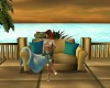 Coba Cabana Fluffy Couch