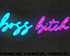 Boss B*tch Neon Sign