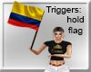 COLOMBIA BANDERA FLAG