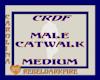 (CR) Male Catwalk-MED