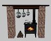 {DD}Rustic Wood Stove