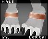 lmL Anklet Copper M
