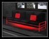 Red Glow Sofa