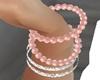 Brasalete Pink Pearl