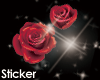 :P RED ROSE sticker