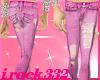 [irk]Torn PINK Jeans