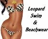 Leopard Beach & Swimwear