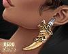 Gemini earrings
