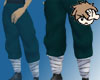 Ninja Pants Blue-Green