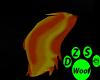 burning tail
