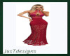 JT Fancy Gown Red