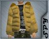 [SPY] Puffy Coat (Beige)
