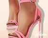 Spring Daisy Pink Heels