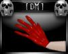[DM] PVC Gloves Red