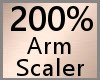 200% Arm Scaler F A