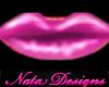 pink pouty lipstick
