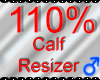 *M* Calf Resizer 110%
