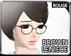 |2' Darkbrown Leniece