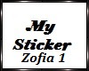 Zofia Sticker