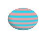 easter egg blue and pink