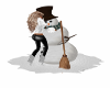 Winter Animated Snowman