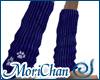 Dusty Blue kittypaw sock